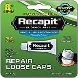 Recapit Loose Cap Dental Repair - 8 Repairs, Pack of 2
