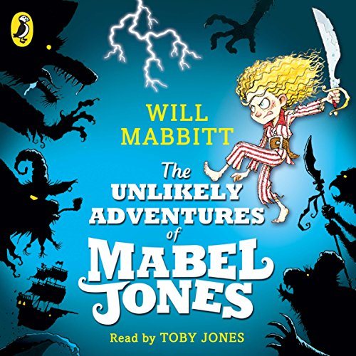 The Unlikely Adventures of Mabel Jones audiobook cover art