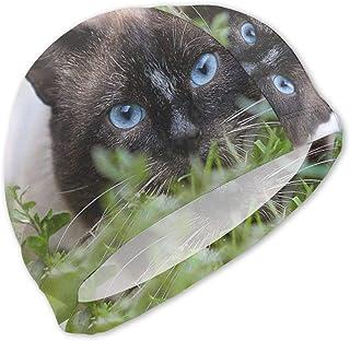 Gorros de baño de Ojos Azules para niños Gorra de baño para niños