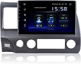 Dasaita 10 inch Screen Android 10.0 Car Stereo for Honda Civic 2006 to 2011 Radio Built-in Carplay Android Auto GPS Single...