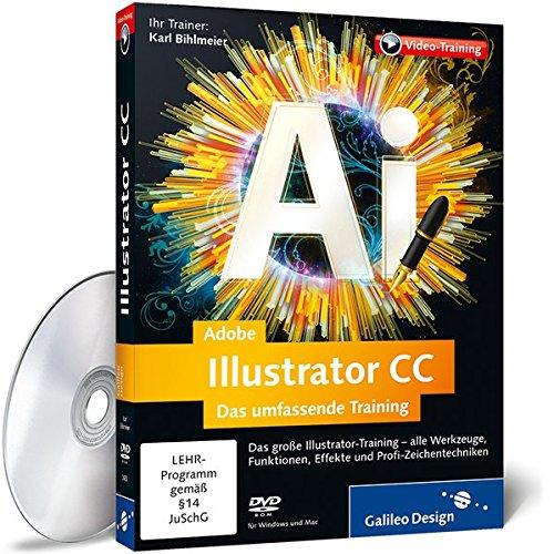 Adobe Illustrator CC - Das umfassende Training [import allemand]