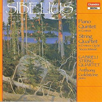 """Sibelius: Piano Quintet in G Minor / String Quartet in D Minor, """"Voces Intimae"""""""
