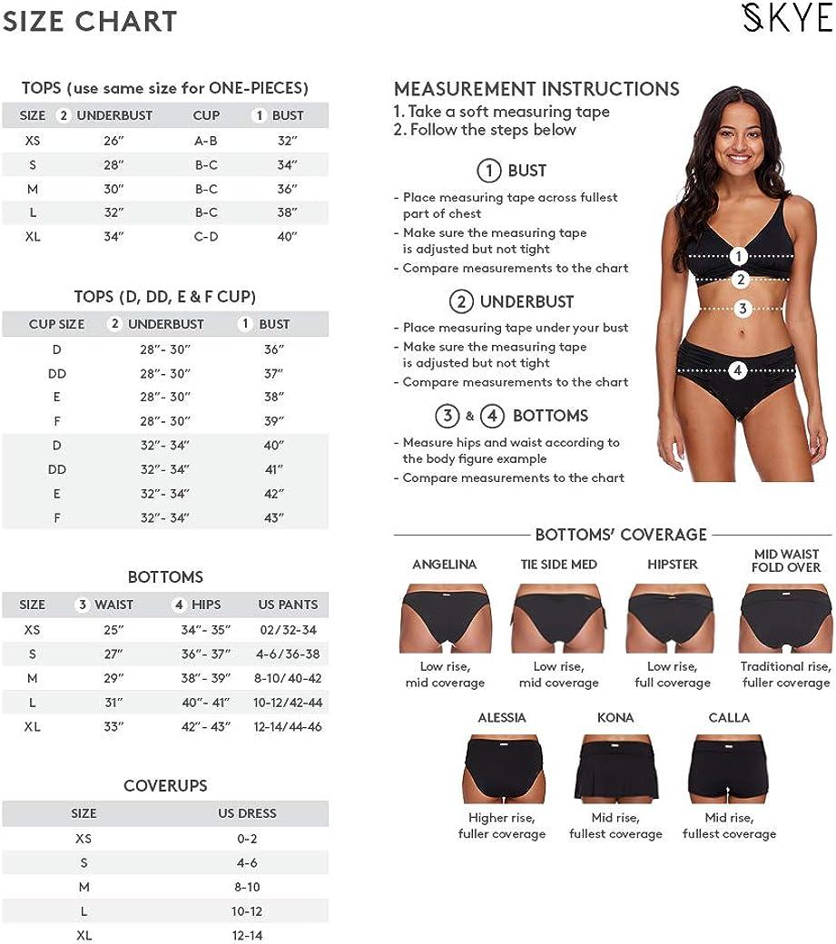 Skye Women's Standard Angelina Bikini Bottom Swimsuit