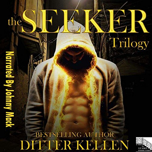 The Seeker Trilogy audiobook cover art