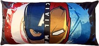 Marvel Avengers Body Pillow Civil War for Kids Bedroom Size 18