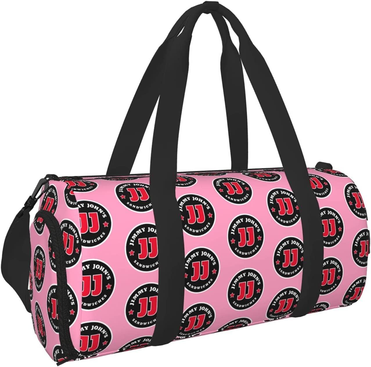 Jimmy Johns Duffel Bag Sport Selling rankings Gym Travel Max 89% OFF Backpack Bags With Tote