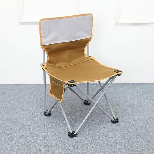 Yarmy Chaise De Camping en Plein Air Chaise De Pêche Pliante Multi-Fonctions Chaise De Voyage en Plein Air Tabouret De Camping Croquis
