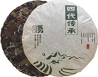 ZJZ-2013年 老白茶 白茶丸いケーキ 福鼎寿眉白茶餅 中国 お茶 100g