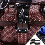 Yuting Estera del Coche Personalizadas Car tapetes for Ford Cobertura Completa for Cualquier estación Protección Frontal y Posterior Liner Set (Color : Coffee)
