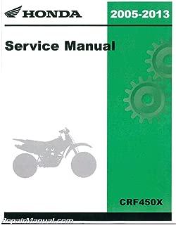 61MEY06 2005-2013 CRF450X Honda Motorcycle Service Manual