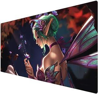 Utimor Großes Gaming Mauspad, XXL Large Mousepad aus glattem Stoffgewebe für Computer, Gamer und Laptop (900 x 400 x 2 mm)