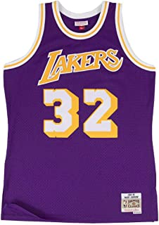 6cfa4c2c45bff Mitchell & Ness - Maillot NBA swingman Magic Johnson Los Angeles Lakers  Hardwood Classics Mitchell &