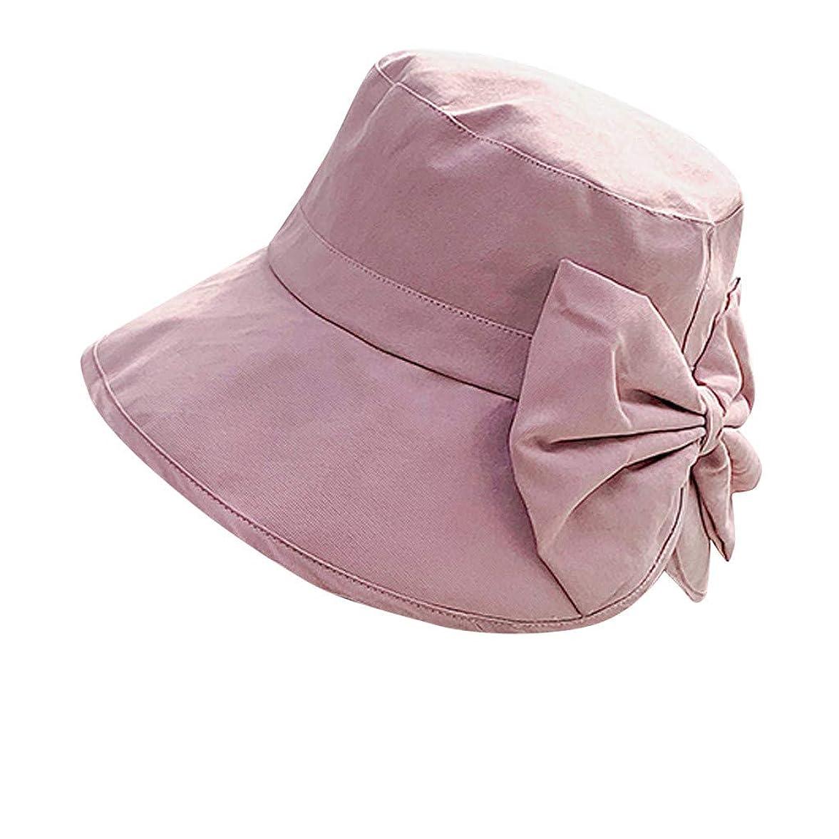 エトナ山気候の山報いる女性 帽子 レディース UVカット ハット女の子 つば広い 漁師帽 女優帽 小顔効果 紫外線 対策 レディース 蝶結び UV 加工 リボン ハット ビーチ 日よけ テント ビーチサンダル ベレー帽 ROSE ROMAN