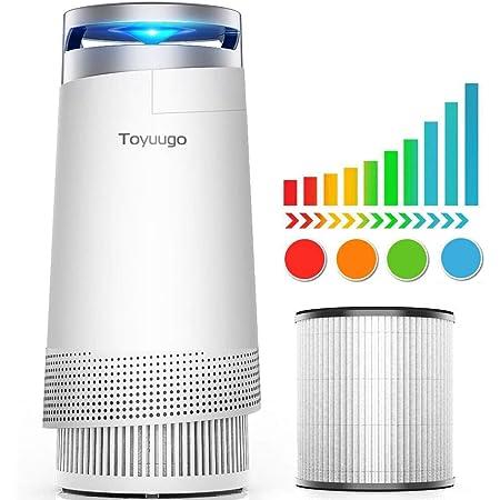 Luftreiniger Toyuugo Anion Air Purifier Hepa Filter 99 97 Filterleistung Mit Aktivkohlefilter Mit Led Nacht Light Für Allergiker Und Raucher Baumarkt