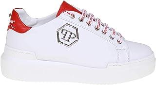 Philipp Plein レディース WSC1201PLE25N0113 ホワイト 革 運動靴