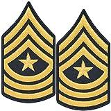 Army Sergeant Major E9 SGM Cloth Rank for ASU Size Male