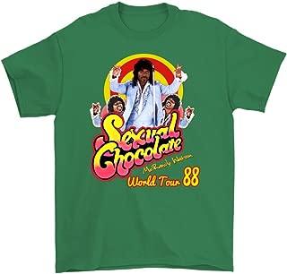 Sexual Chocolate Randy Watson Eddy Murphy's 1988 World Tour Funny t Shirt