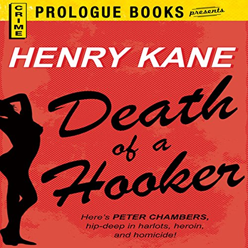 Death of a Hooker audiobook cover art