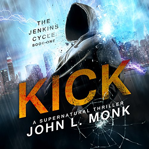 Kick audiobook cover art