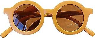 Sunglasses Enfants Enfants Enfants Garçons Filles Baby Classic Round Round Vintage Viettes, Cadeaux De Fête, Outils De Cam...