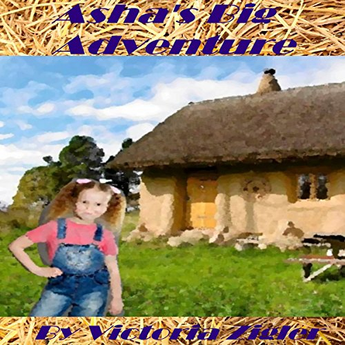 Asha's Big Adventure audiobook cover art
