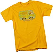 Scooby Doo The Mystery Machine Adult T-Shirt