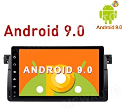 MCWAUTO 9 Inch Android 9.0 CarRadio GPS Media Player for BMW E46/Rover 75/MG ZT Auto GPS Navigation with 4G WiFi Bluetooth