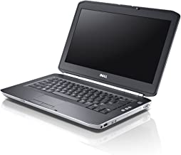 Dell Latitude E5430 14.1 Inch Business High Performace Laptop (Intel Core i5-3320M up to 3.3GHz, 4GB RAM, 320GB HDD, WiFi, DVDRW, Windows 10 Professional) (Renewedd)
