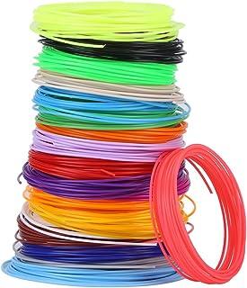 3 idea Imagine Create Print Sunlu 3D Pen 10M PCL Filament Refills - 1.75mm PCL 3D Printer Filament (Set of 10)