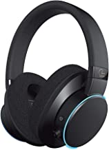 Creative SXFI AIR Bluetooth and USB Headphones with Super X-Fi Technology, 50mm Drivers, microSD Card Reader, Touch Controls, Ambient Monitoring, and RGB Light Ring for Movies and Music (Black)