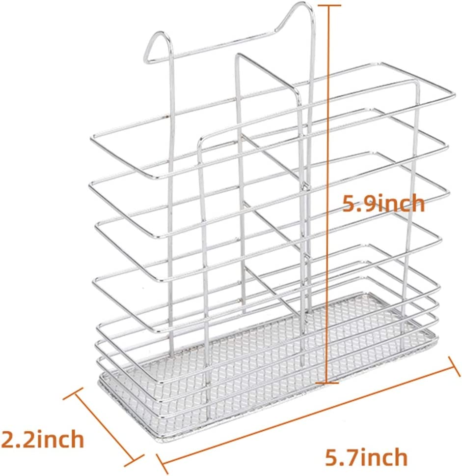 Dish drying rack 2 tier dish rack with Utensil Holder silver Cup Holder and drying rack kitchen counter Electric plate Dish Dryer dish drain 16.5 x 10 x 15 inch