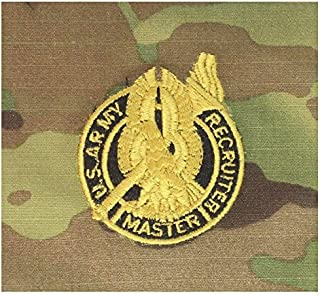 Vanguard Army Embroidered Badge ON OCP SEW ON: Recruiter Master