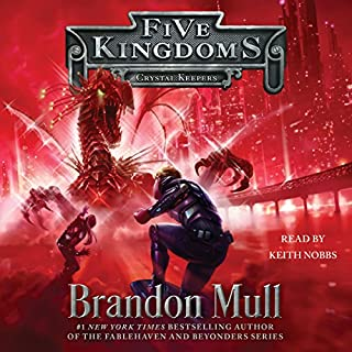 Crystal Keepers                   By:                                                                                                                                 Brandon Mull                               Narrated by:                                                                                                                                 Keith Nobbs                      Length: 13 hrs and 11 mins     1,339 ratings     Overall 4.8