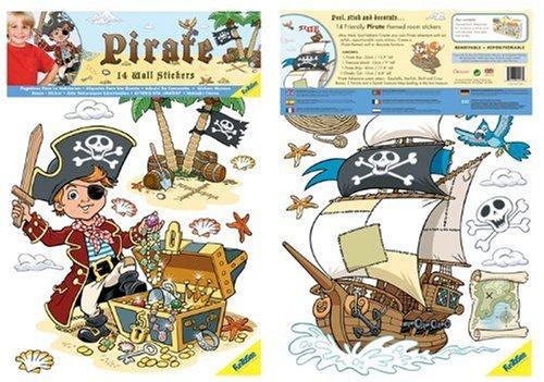 Au-Sycomore - Funtosee - FTS04003 - Blister Sticker - Pirates