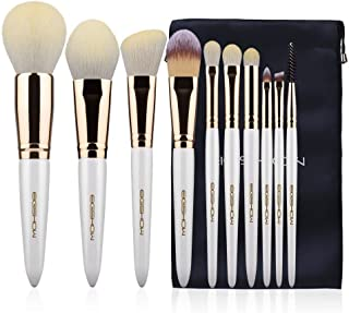 Makeup Brushes 10Pcs Makeup Brush Set High-tech Nanometer Fiber Foundation Concealer Cosmetic Eyeshadow Brush Kit