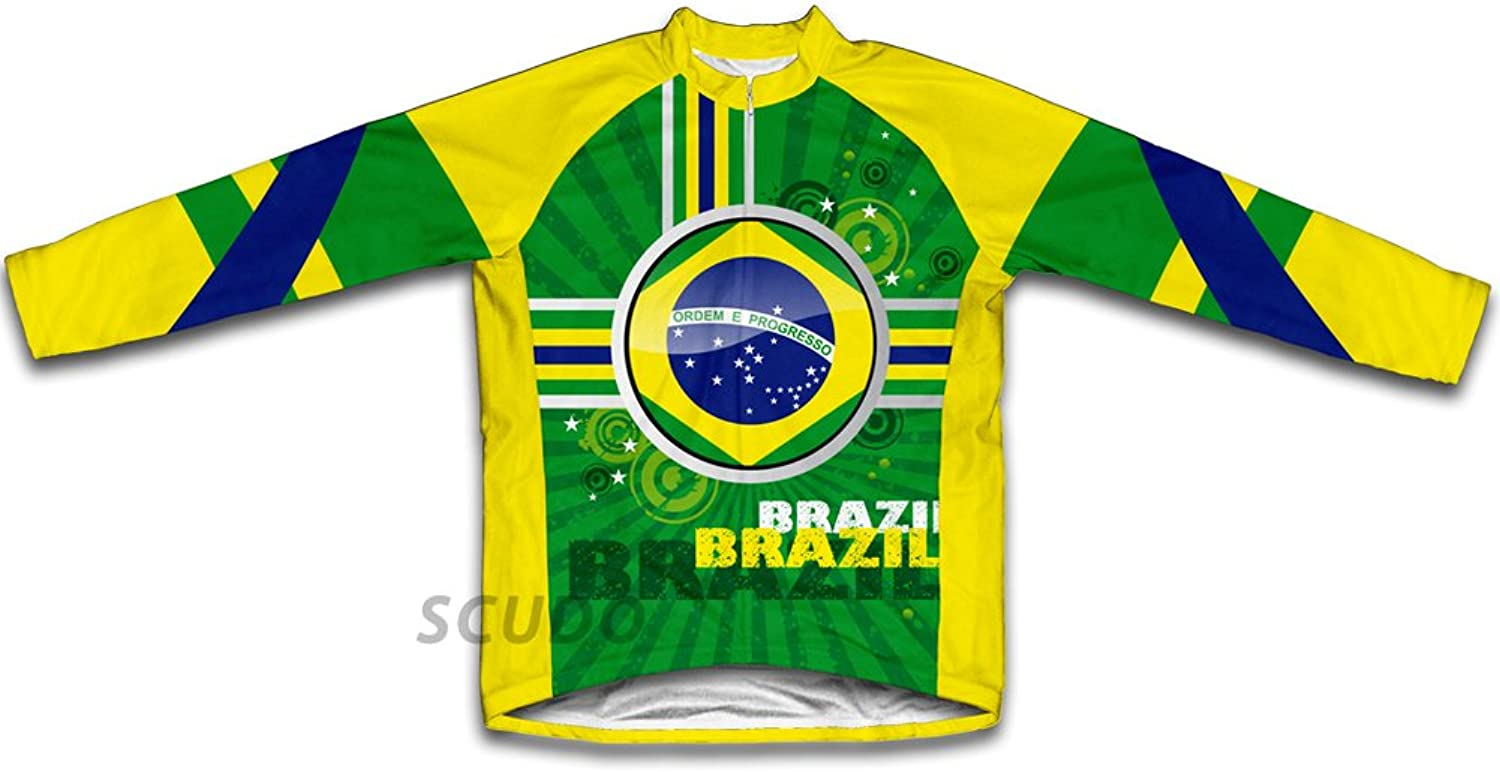 Brazil Winter Thermal Cycling Jersey for Women