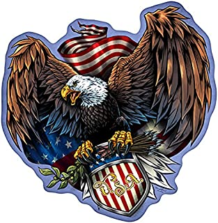 Freedom Eagle Novelty Sign | Indoor/Outdoor | Funny Home Décor for Garages, Living Rooms, Bedroom, Offices | SignMission Personalized Gift Wall Plaque Decoration