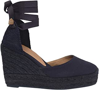 CASTANER Women's Carina C Wedge Espadrilles Leather