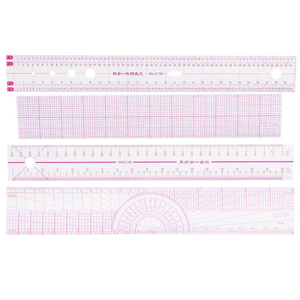 Japan's largest Omaha Mall assortment Multifunctional Sewing Ruler Set Sets DIY Quilting Styling