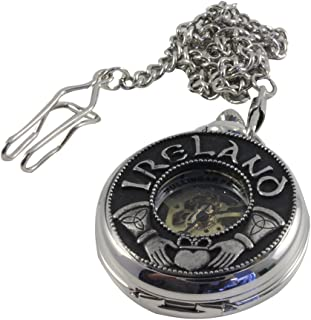 Pocket Watch Claddagh Ireland Mechanical