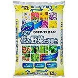 【Amazon.co.jp限定】自然応用科学 プレミアムACE花と野菜の培養土 14L