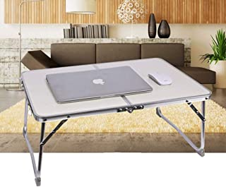 Folding Laptop Table, Laptop Bed Table Portable Desk Notebook Stand Reading Holder Foldable Legs Reading Film on Bed/Sofa ...