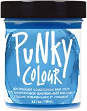 Punky Lagoon Blue Semi Permanent Conditioning Hair Color, Vegan, PPD and Paraben Free, lasts up to 25 washes, 3.5oz