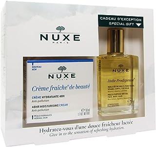 Nuxe Coffret Crème Fraîche De Beauté Cream Normal Skin 50ml + Huile Prodigieuse 30ml