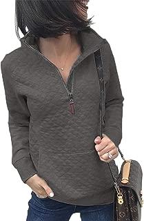 Best womens quilted sweatshirt Reviews