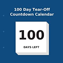 100 Day Tear-Off Countdown Calendar