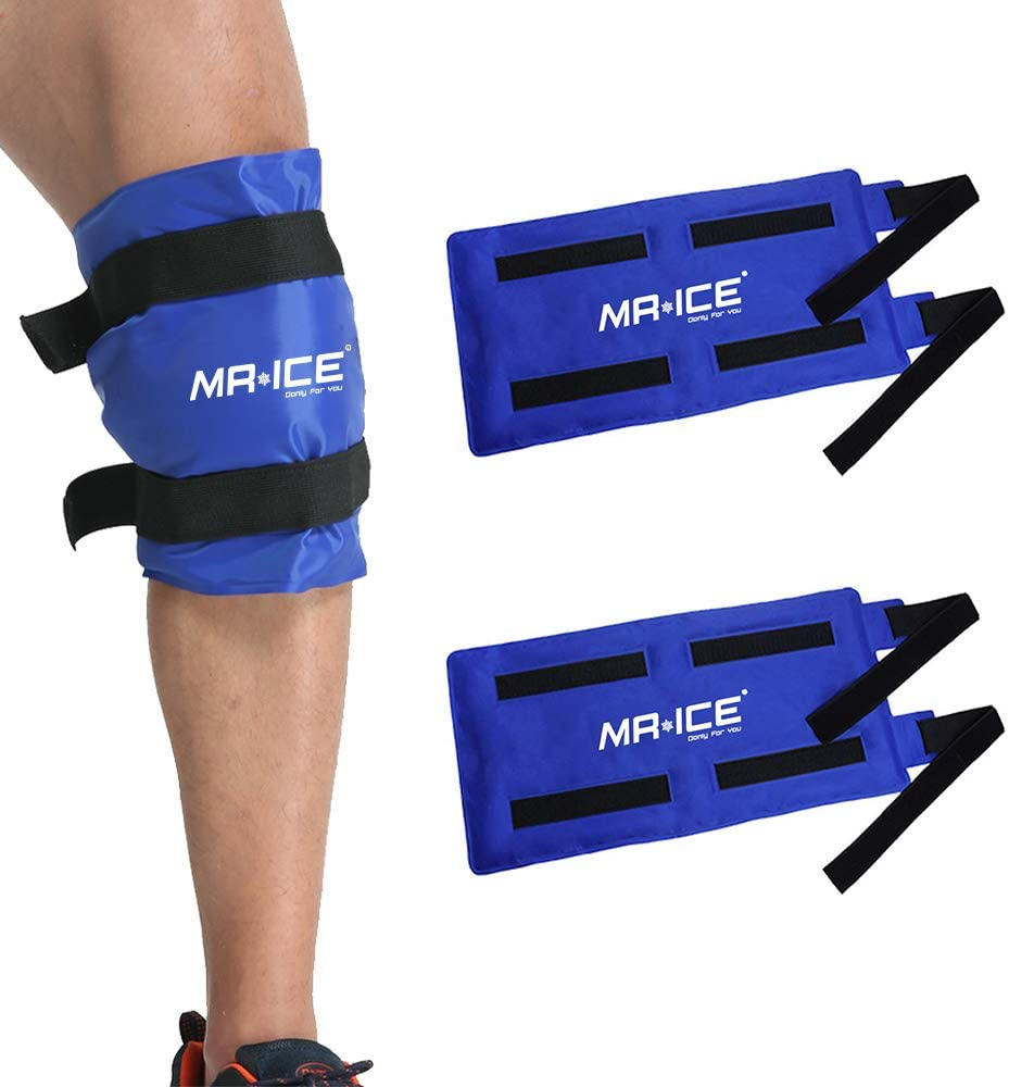 MR.ICE 2 Packs Large Knee Gel Max 86% OFF Ice for Sales for sale Pack Cold Injuries Th Hot