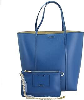 dolce gabbana blue handbag