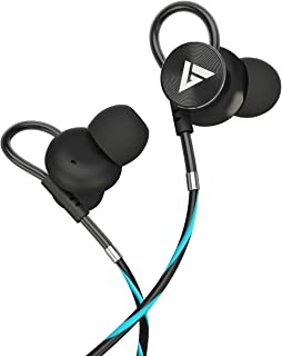 Boult Audio BassBuds Loop in-Ear Wired Earphones with NO Magnet (Upgraded Model) and 12mm Powerful Driver for Extra Bass w...