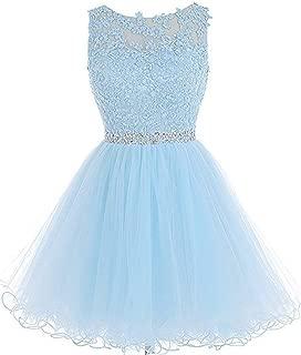 chu gu Women's Short Prom Party Dress A Line Tulle